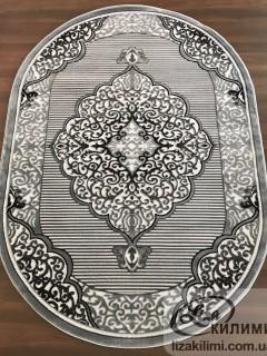 Элитный ковер HEAT-SET COKME 3448  L.grey O