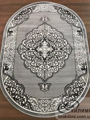 Элитный ковер HEAT-SET COKME 3448 О L.grey
