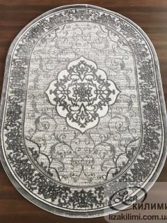 Элитный ковер HEAT-SET COKME 3451 О L.grey