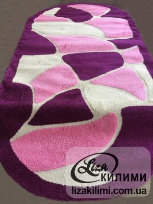 Килим Shaggy Loop 7002 Pink О