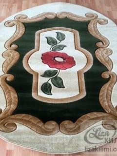 Килим Liza 3014 green