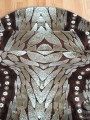 Килим Kristal 3182 d.brown