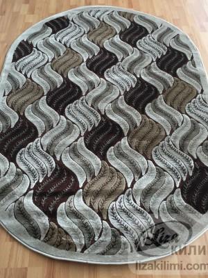 Килим Kristal 3210 d.brown