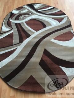 Килим Kristal 3211 d.brown